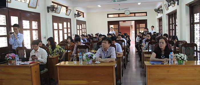 Tập huấn phần mềm SPF2014 và PABMIS2014 tại Sở Tài Chính Thái Nguyên