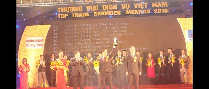 Giải thưởng Thương mại dịch vụ Việt Nam 2016