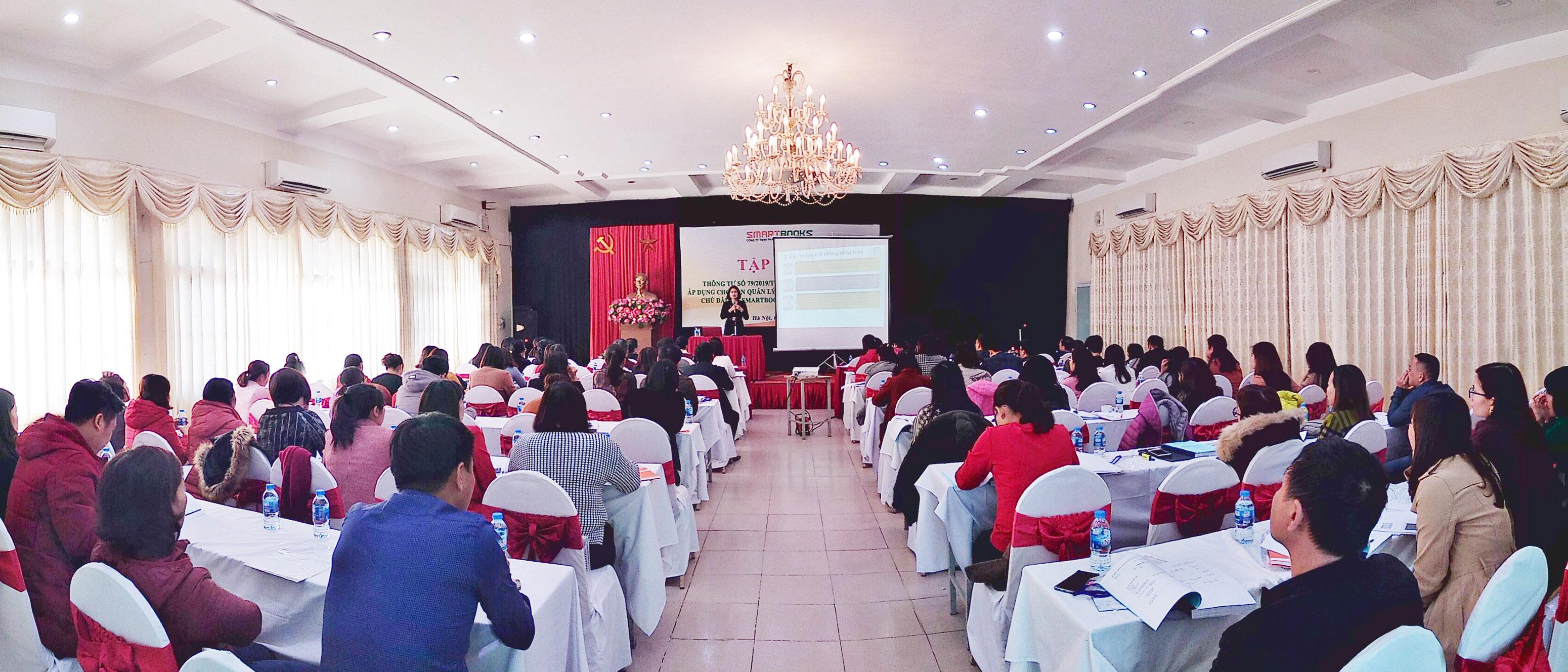 TẬP HUẤN THÔNG TƯ SỐ 79/2019/TT-BTC VỀ CHẾ ĐỘ KẾ TOÁN ÁP DỤNG CHO BAN QLDA