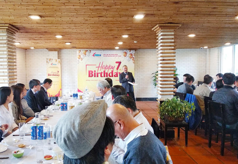 Smartbooks tham dự sự kiện sinh nhật VFOSSA lần thứ 7 (2012 - 2019)