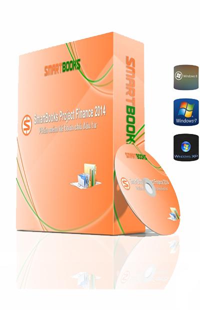 Phần mềm kế toán chủ đầu tư SmartBooks Project Finance 2014